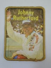 1978 Vintage Johnny Rutherford Patch IndyCar Indianapolis 500 Motor Speedway