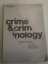 Crime And Criminology, Rob White