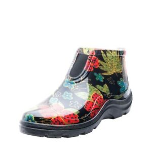 Sloggers Midsummer Black Waterproof Ankle Boot