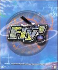 Fly! MAC CD cockpit flight simulation aviation pilot airplane simulator game!