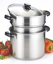 Lagostina stainless 18/10 6L pot multi cooker colander rinsing blanch induction