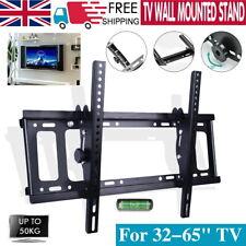 Slim TILT TV Wall Bracket Mount For 32 40 42 50 55 60 65 Inch Plasma LG LED LCD
