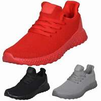 Crosshatch New Mens Lace up Trainer Fashion Lightweight Sneaker Running Gym Shoe