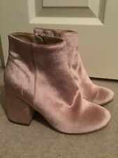 Funky Pink Boots. Size 3. Unworn. New Look. Party
