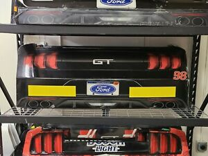 Chase Briscoe Nascar Race Used Sheet Metal Rear Bumper Cover rookie