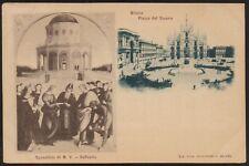 AX0697 Milano - Piazza del Duomo - Vedute - Cartolina postale - Postcard