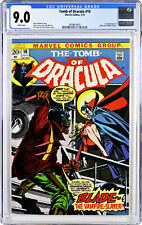 Tomb of Dracula 10 First Appearance of Blade CGC 9.0