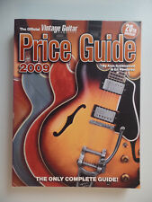 Vintage Guitar Bass amp Price Guide 2009 Fender Gibson Gretsch Guild Martin PRS