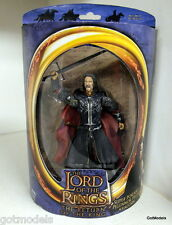 Toy Biz Lord of the Rings Super poseable Pellennor Fields Aragorn action figure