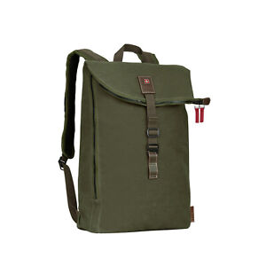 """Wenger Laptop Backpack 15.6"""" 125th Anniversary Limited Edition, Olive, UK Seller"""
