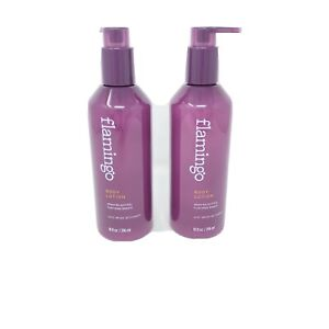 Lot of 2 Flamingo Women's Body Lotion With White Willowbark Each Bottle 10oz