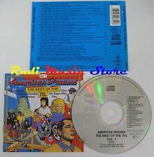 CD AMERICAN DREAMS BEST 70 ELVIS PRESLEY DOLLY PARTON STYX HALL OATES no mc(C58)