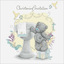 Me to You Tatty Teddy Christening Invitations Pack of 10