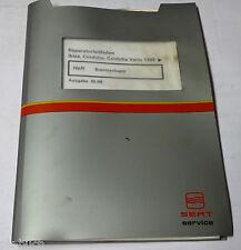 Werkstatthandbuch Seat Ibiza Typ 6K / Cordoba / Vario Bremsen Bremsanlagen 1999