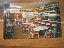 Old Vintage Postcard Old Vienna Bismarck Hotel Chicago Soda Fountain Coffee Ice