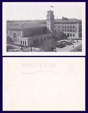 CANADA SASKATCHEWAN MOOSE JAW CPR STATION REAL PHOTO CIRCA 1948
