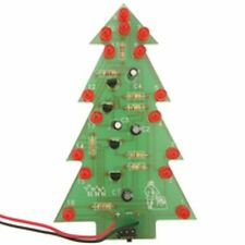 Flashing LED Christmas Tree Electronics Kit