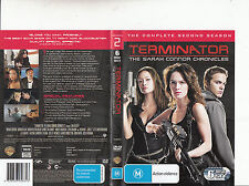 Terminator:The Sarah Connor Chronicles-2008-TV Series USA-Compl Series 2-6 DVD