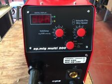 Inverter  saldatrice  MIG Multiprocesso  professionale 200Amp 40% MADE IN ITALY