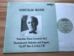 Dell'Arte DA 9015 PROKOFIEV - PIANO CONCERTO NO 1 ++ *SVIATOSLAV RICHTER* NM