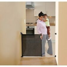 NEW ER-L943 DreamBaby RETRACTABLE SAFETY GATE-FITS OPENINGS TO 55IN-(Black)