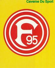 283 FORTUNA DUSSELDORF GERMANY 2. BUNDESLIGA STICKER FUSSBALL PHASE 1998 PANINI