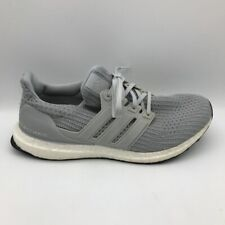 Adidas Mens Ultra Boost 4.0 Running Shoes Gray BB6167 Low Top Sneakers 9.5M