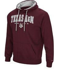 Colosseum Men's NCAA-Zone III- Hoodie Sweatshirt-Texas A&M Aggies-Maroon-XXL