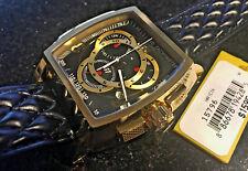 NEW Invicta 47mm S1 Rally Swiss Quartz Chronograph Leather Strap Watch 15796