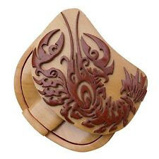 Lobster Puzzle Box Tribal Art Puzzle Box