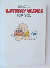 Tom Wilson Ziggy Birthday Greeting Card w/ Envelope American Greetings G5