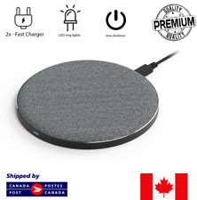 Wireless Fast Charger Qi Charger For Samsung Galaxy S6 S7 S8 iPhone 8 X/XS/XR