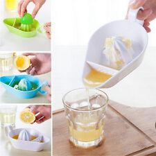 Plastikküchen-Frucht-Werkzeug-manuelle Juicer-Zitronen-Zitronenpresse AB