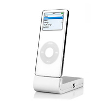 USB iPod Nano Stand with Audio Out (White)
