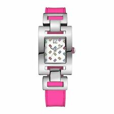 newstuffdaily: NIB TOMMY HILFIGER Pink Silicone Ladies Watch 1781068