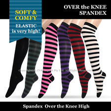 Stocking Material Over the Knee High Socks for Girls Womens Size 2-8 Free Ship