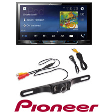 Pioneer MVH-300EX Double 2 DIN Bluetooth Digital Media Player with Backup Camera