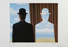 René Magritte - Decalcomania (lithograph, plate-signed & numbered)