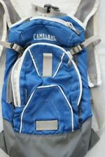 Camelback Mini MULE Hydration Backpack Blue Gray Fits Kids 5 and up