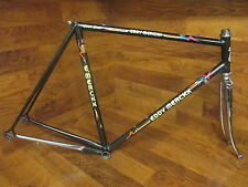 VINTAGE EDDY MERCKX CORSA EXTRA LUGGED COLUMBUS SLX STEEL ROAD BIKE FRAME SET 55