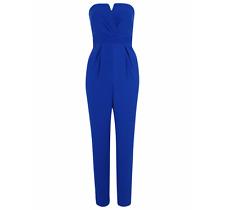 George Notch Neck Strapless Jumpsuit Size UK14/EUR42 BNWT