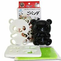 Japanese Benito Accessories Cute Baby Panda Shape Rice Mold Seaweed Nori Cutter