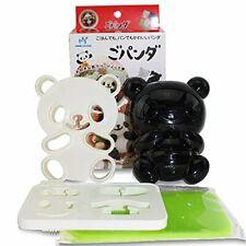 Japanese Benit Accessories Cute Baby Panda Shape Rice Mold & Seaweed Nori Cutter