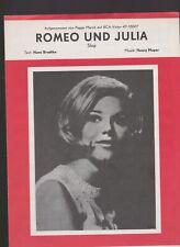 BLADMUZIEK  //  PEGGY  MARCH  --  ROMEO  und  JULIA