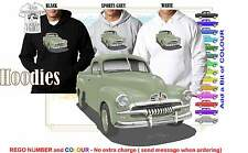 53-56 FJ HOLDEN UTE HOODIE ILLUSTRATED CLASSIC RETRO MUSCLE SPORTS CAR
