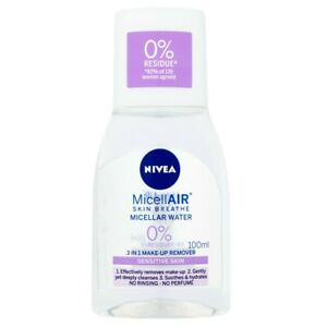 Nivea Micellar Water Sensitive Skin 3-in-1 Make up Remover Soothes Hydrate Skin