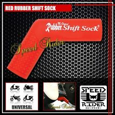 RED RUBBER SHIFT SOCK COVER PROTECTOR BOOT BIKE SHOE SILICONE SHIFTER FOOT PEDAL