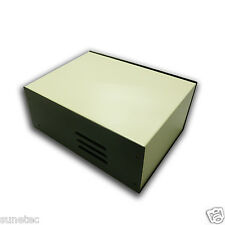 """SU583 5"""" DIY Electronic Metal Project Enclosure Box Transformer Case"""