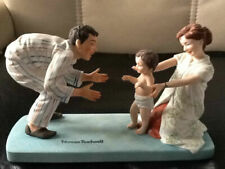 """Vintage 1979 Norman Rockwell """"Baby's First Step� Figurine-Mint in Original Box"""