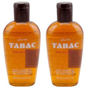 Tabac Man Original Bade & Duschgel Shower Gel for man 2 x 200 ml TOP